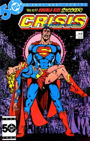 Cover for Crisis on Infinite Earths #7 (1985)