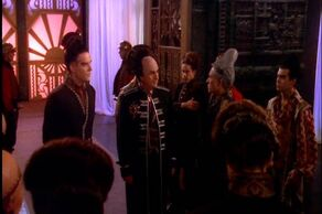 Londo meets with Centauri officials