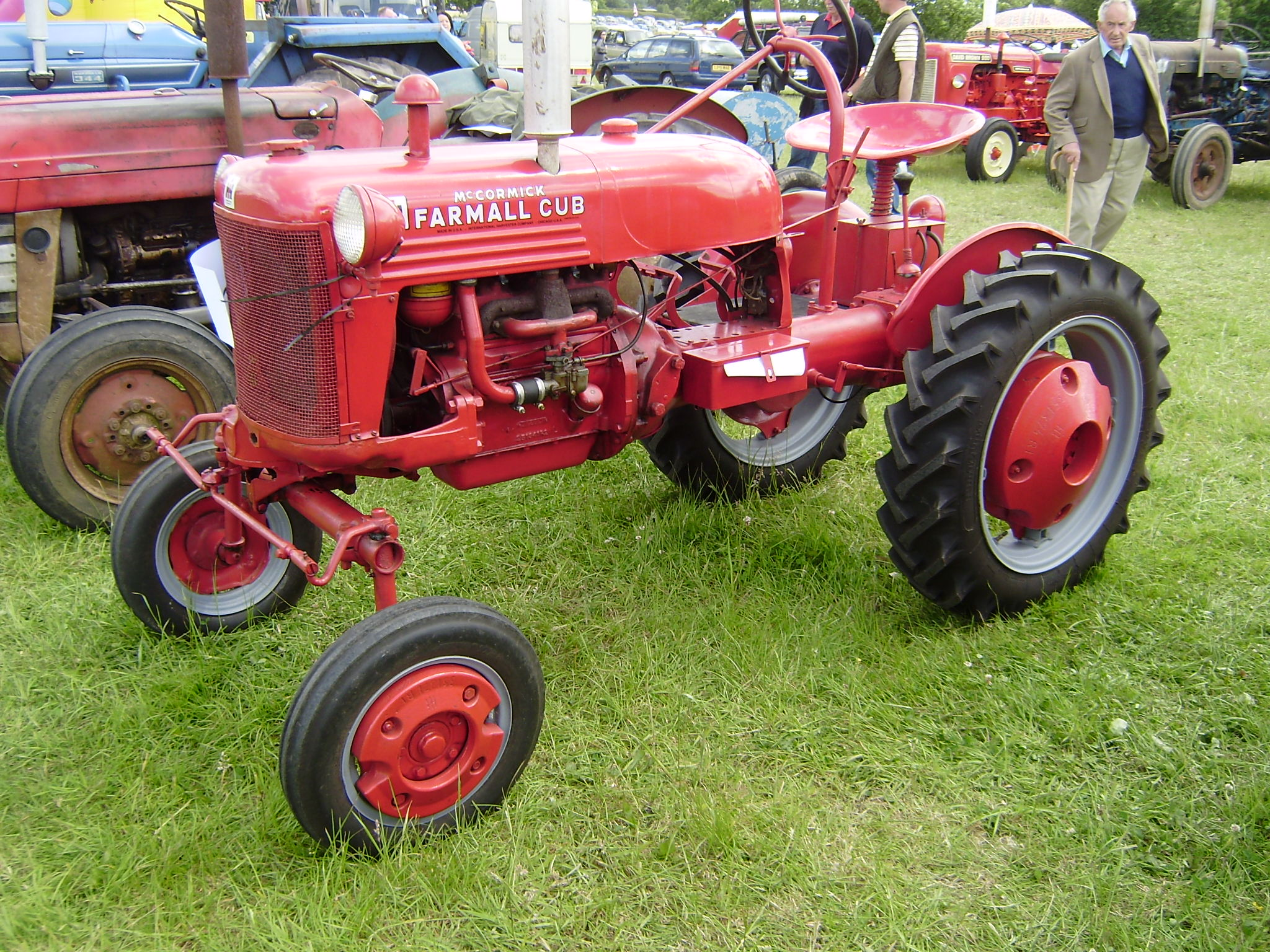 Farmall M Controls : Farmall cub tractor construction plant wiki the