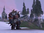 Dwarf death knight