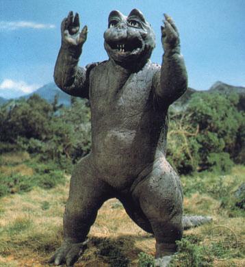 Minilla vs Little Godzilla