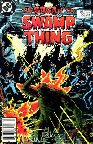 Cover for Swamp Thing #20 (1984)