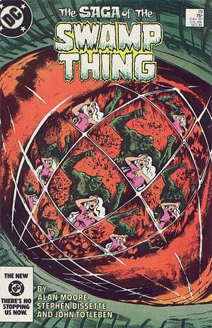 Cover for Swamp Thing #29 (1984)