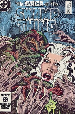 Cover for Swamp Thing #30 (1984)