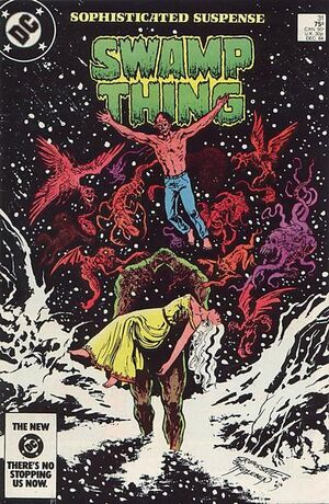 Cover for Swamp Thing #31 (1984)