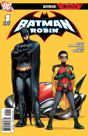 Cover for Batman and Robin #1 (2009)