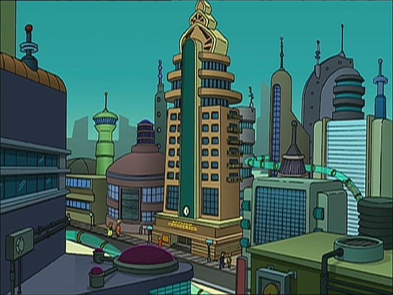 New New York Futurama Wiki the Futurama database
