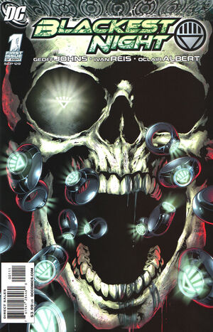 Cover for Blackest Night #1 (2009)