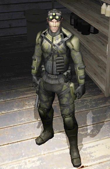 Image - Sam Fisher jungle camo.jpg - The Splinter Cell Wiki
