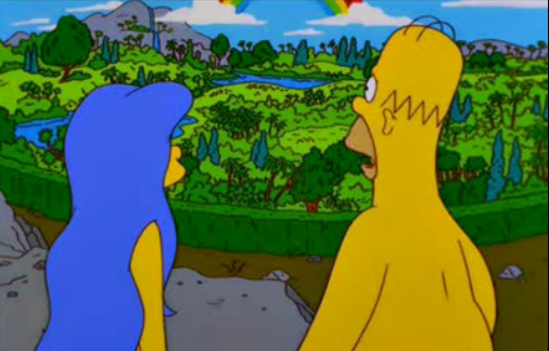Garden Of Eden Simpsons Wiki