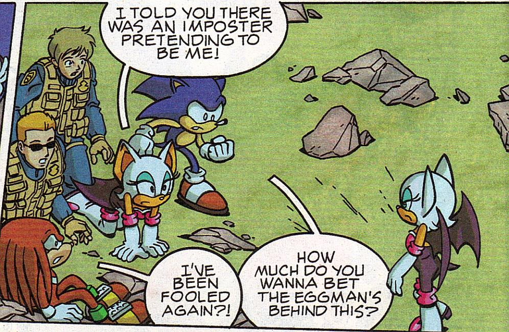 Rouge The Bat Sonic X Mobius Encyclopaedia Sonic The