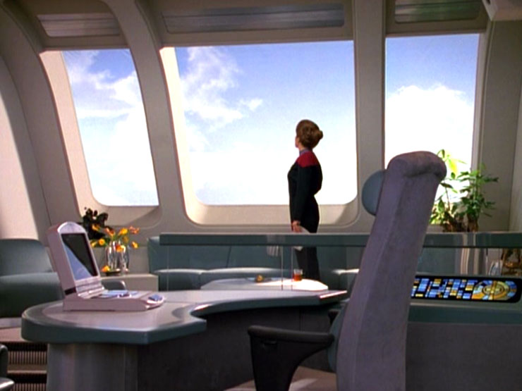 Captain S Ready Room Memory Alpha The Star Trek Wiki