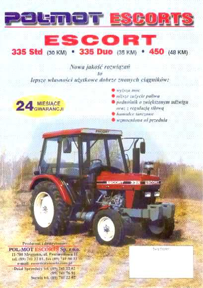 Escort 37 tractor image