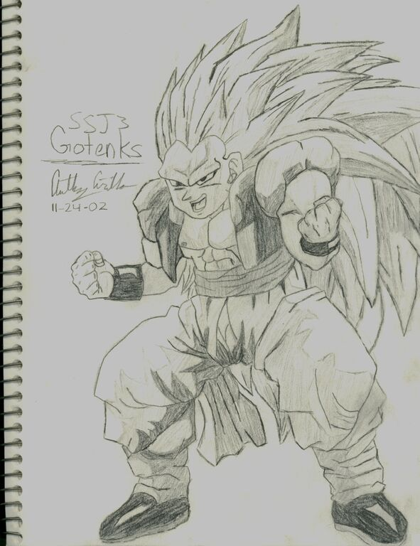 Image - Gotenks SSJ3 Drawing.jpg - 68.6KB