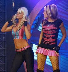 Angelina Love And Velvet Sky Entrance