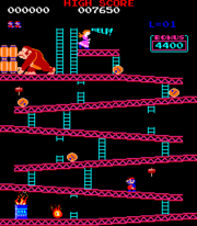 Mario a través del tiempo. 180px-Donkey_Kong_%28juego%29_nivel_1