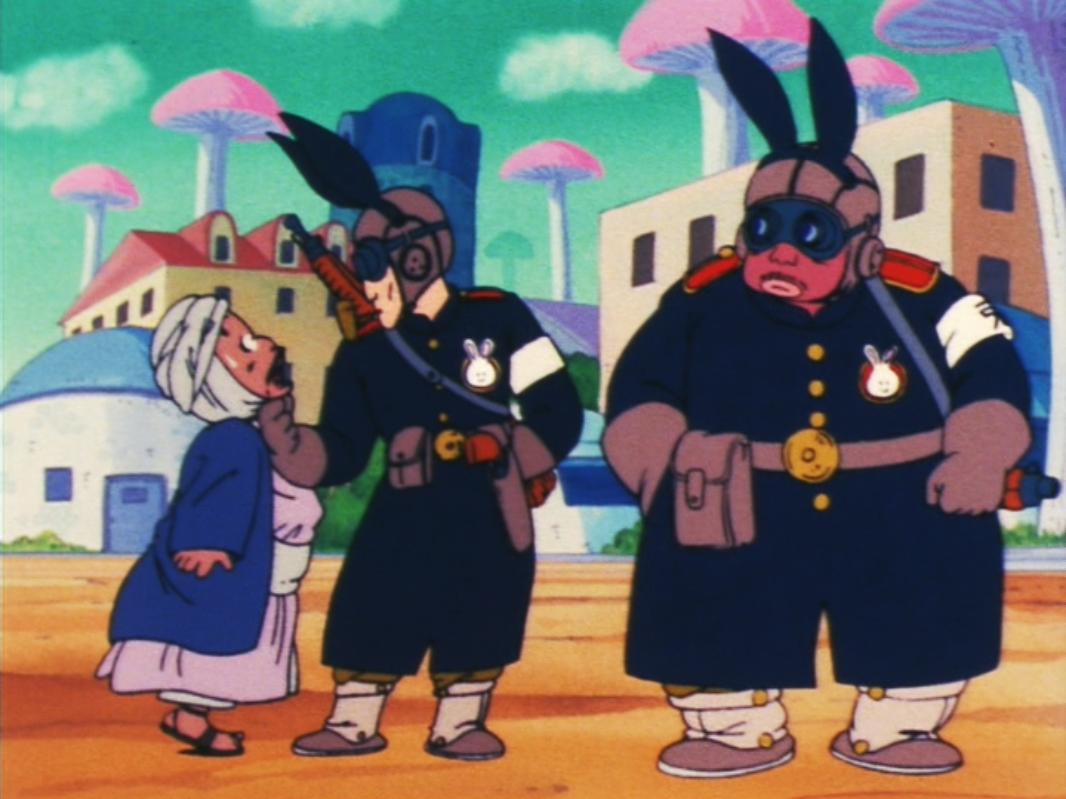 dragon ball rabbit gang