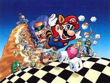 Mario a través del tiempo. 226px-Super_Mario_Bros_3_Atwork