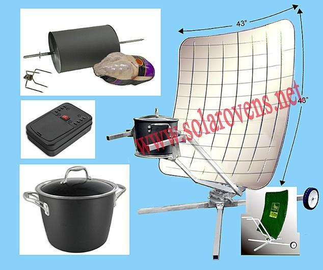 Solar Cooker Solar Panel Cooker