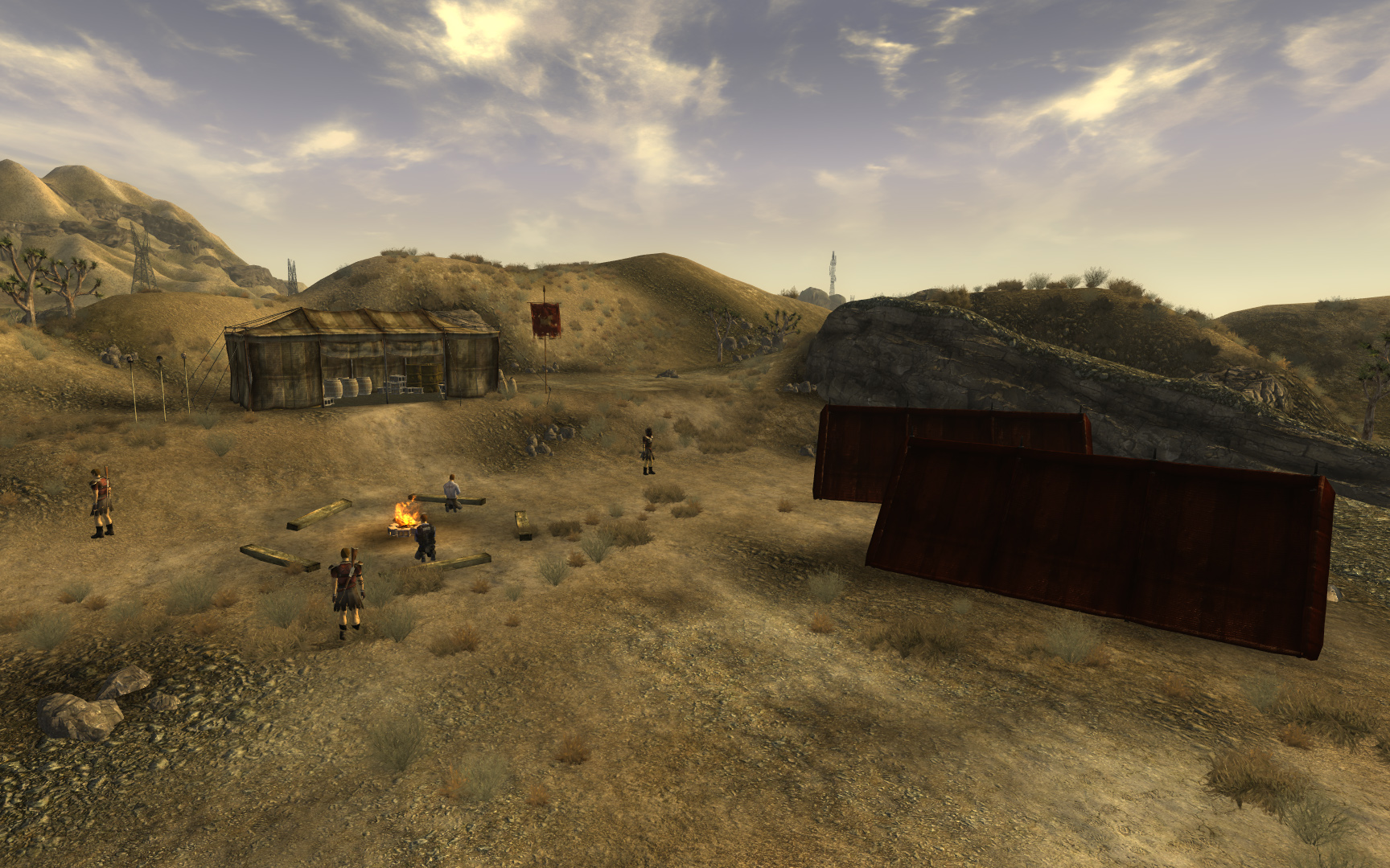 Legion raid camp The Fallout wiki Fallout New Vegas and more