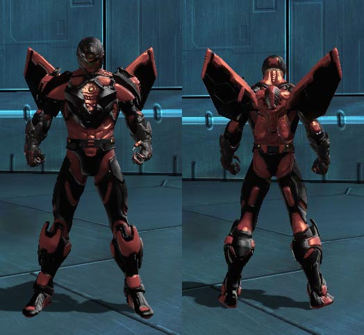 Shielded Robot Gloves Texture Possibly Wrong Dc Universe Online