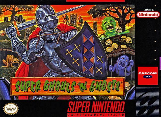 150 SNES games reviewed  - Page 4 SuperGhoulsCoverScan