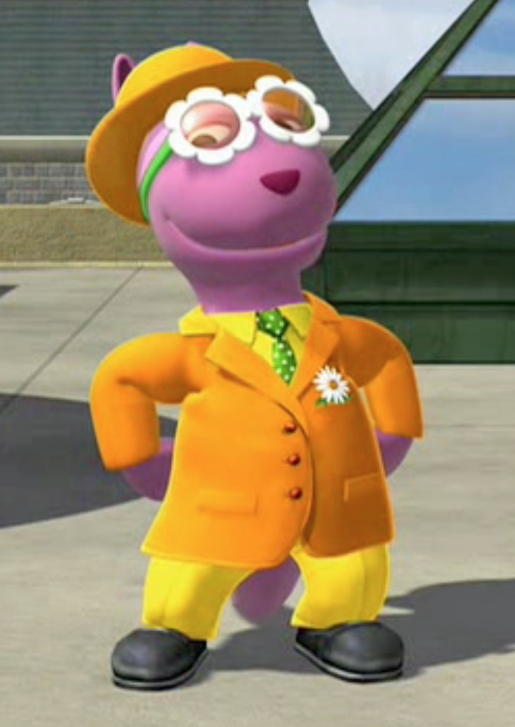 Backyardigans Purple Kangaroo : Bloom Meister  The Backyardigans Wiki