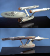 Enterprise 3 foot model final appearance