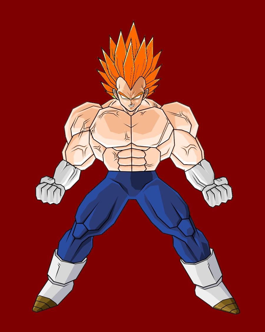 Super saiyan beyond limits ultra dragon ball wiki - Vegeta super sayen ...