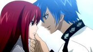 Siegrain talks to Erza