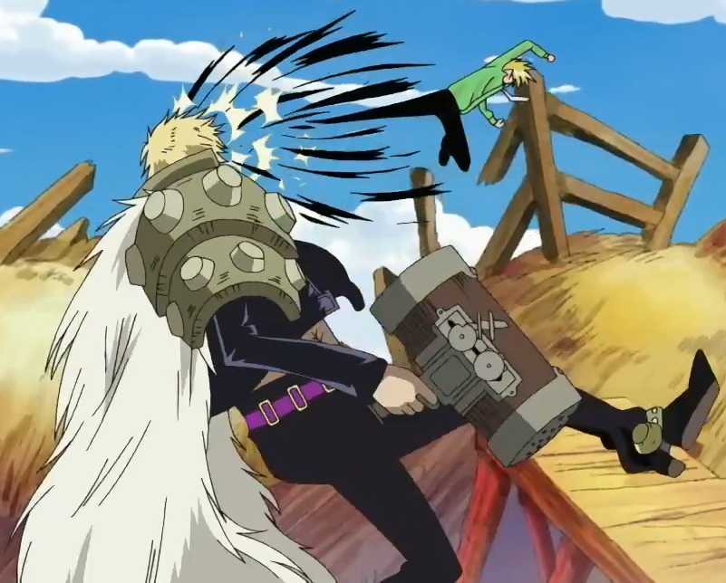 Duval - The One Piece Wiki - Manga, Anime, Pirates ... Frightened Face Anime