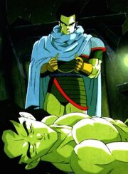 Broly and Paragus