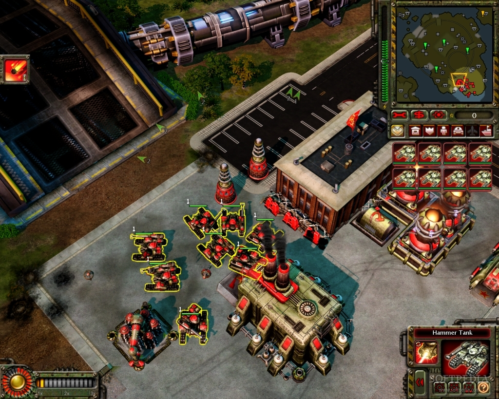 Sidebar Eva Database Command Amp Conquer 4 Red Alert 3