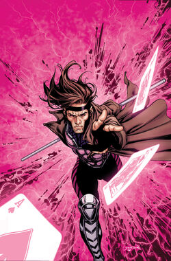X-Men Origins Gambit Vol 1 1 Textless