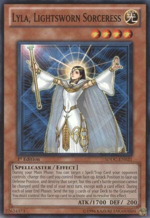 General Lesson 11 - Lightsworn Meta 300px-LylaLightswornSorceress-SDDC-EN-C-1E