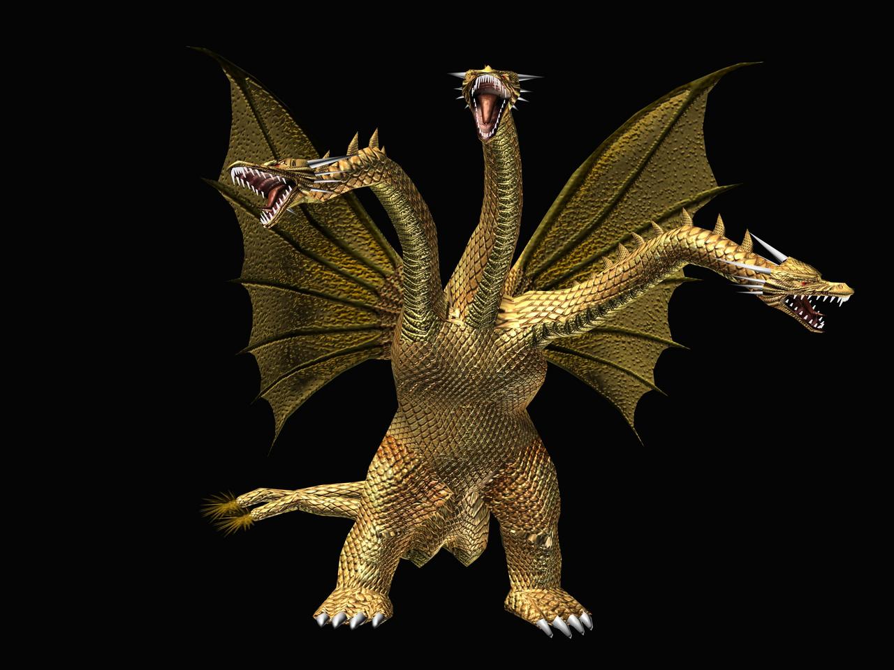 Image - GDAMM Artwork - King Ghidorah.png   Wikizilla, the Godzilla Resource and Wiki