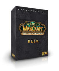 Mists of Pandaria beta box