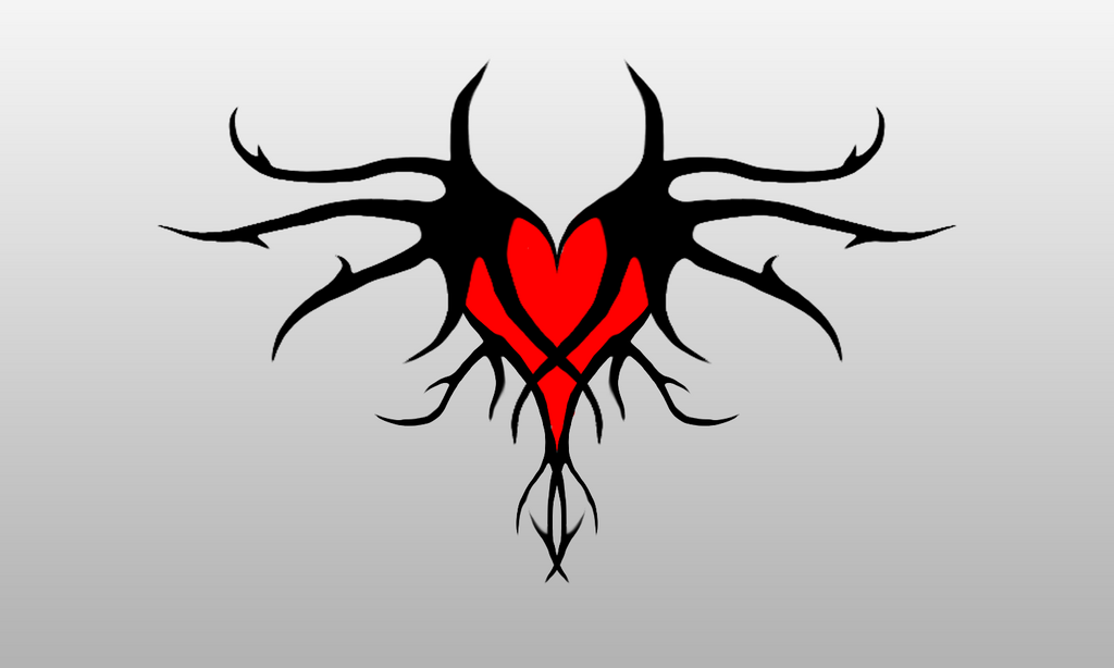 Twisted heart tattoo design by d3xmorph d4psqfn png tattoos wiki