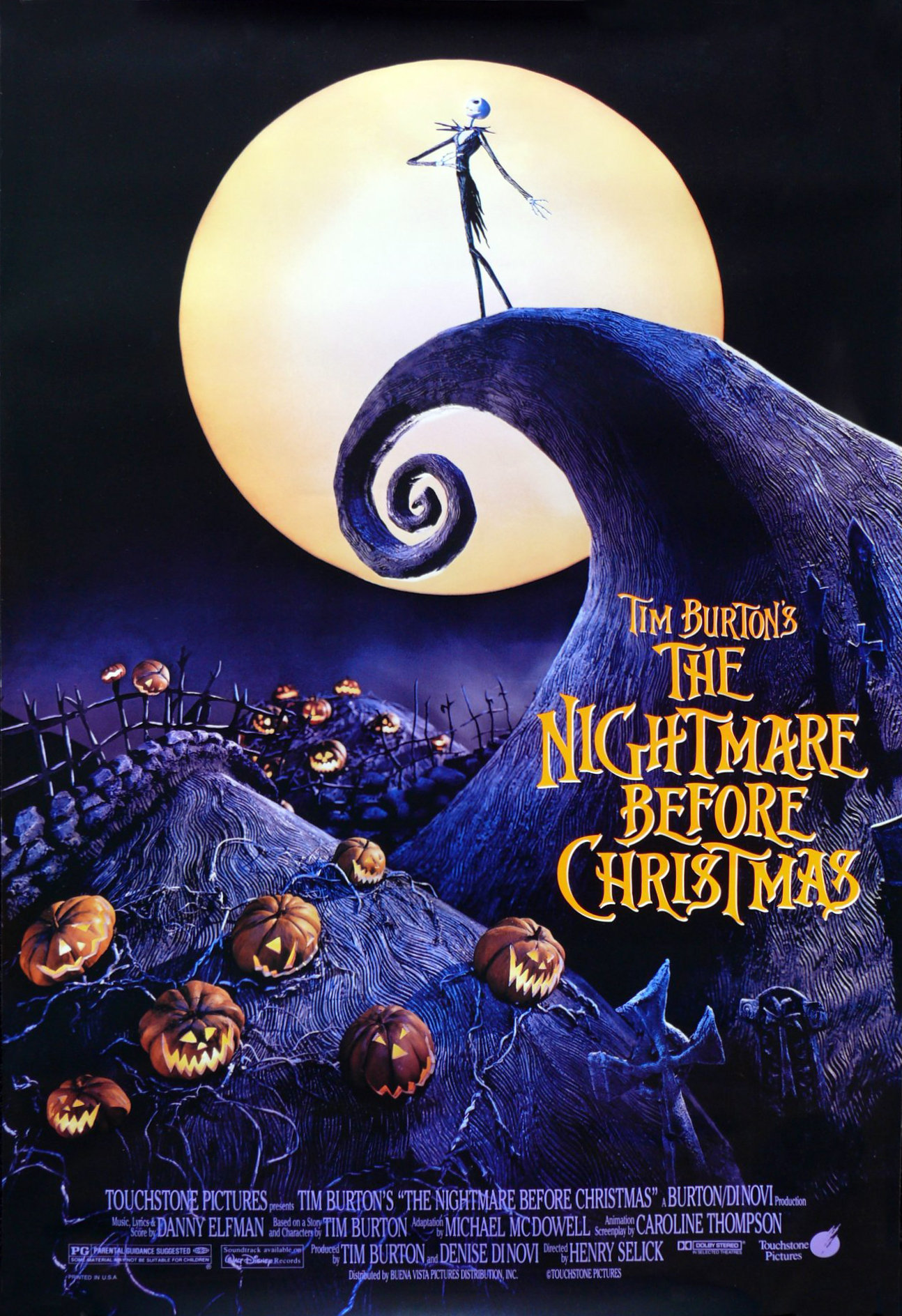 The Nightmare Before Christmas - Tim Burton Wiki