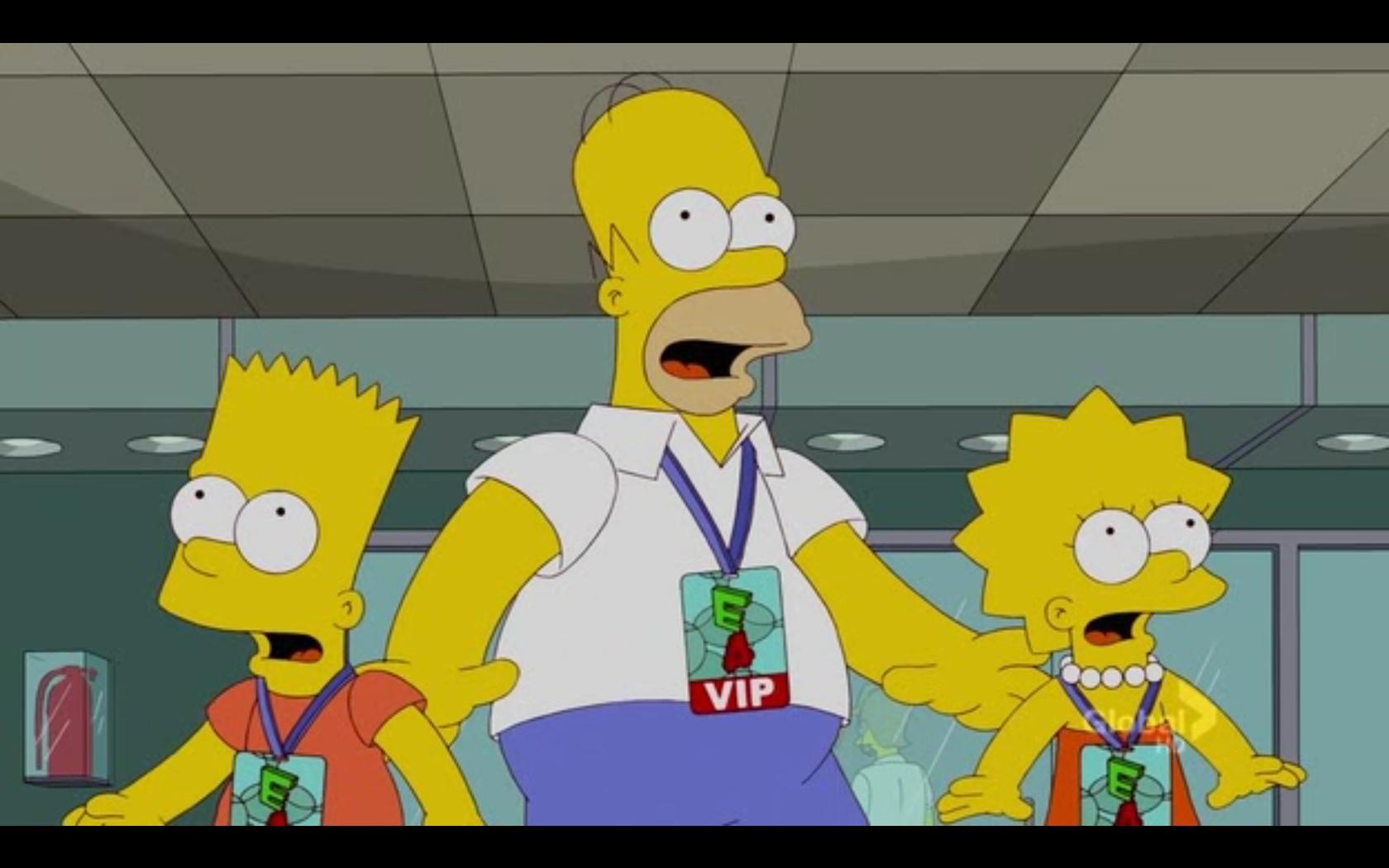 Bart Lisa And Homer