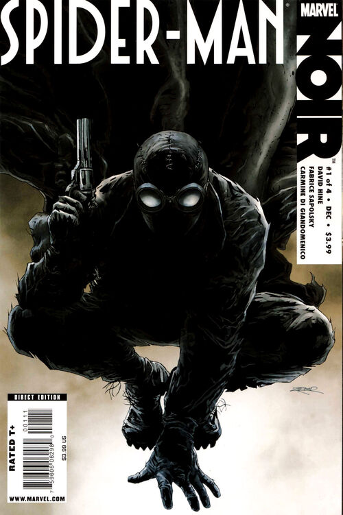Spider man noir issue 1 newspiderman wiki - Best spider man noir comics ...