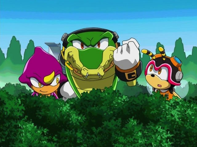 sonic x team chaotix meet