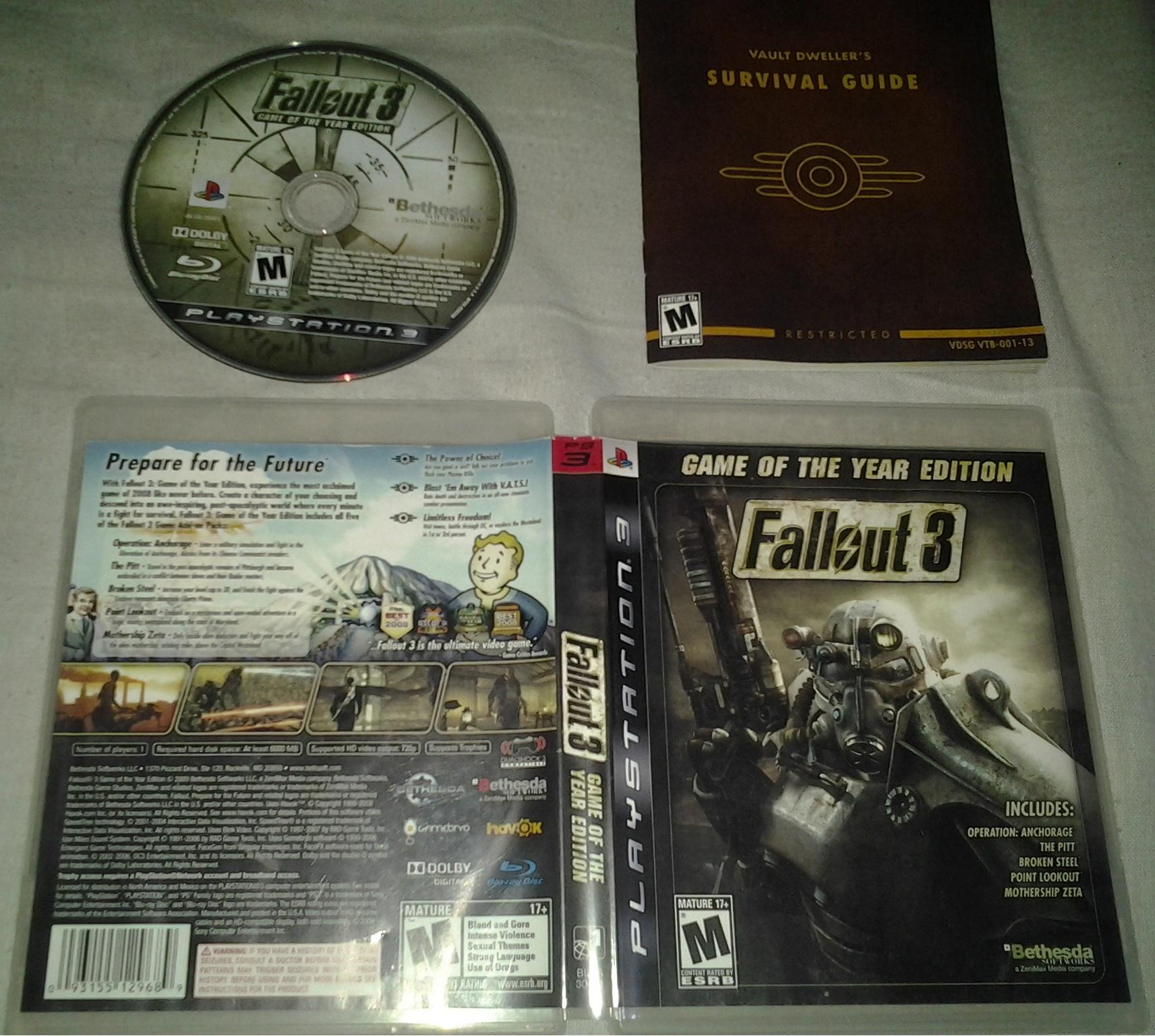 Fallout 3 Goty Cheats