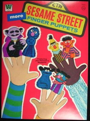Sesame Street Finger Puppets Book Muppet Wiki