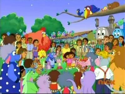 Image Dora S Big Birthday Adventure Jpg Chipmunks