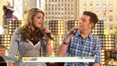 Scotty and Lauren - I Told You So - Today Show
