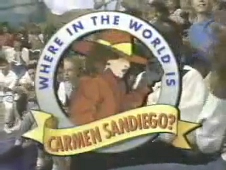 Where In The World Is Carmen Sandiego Logopedia The