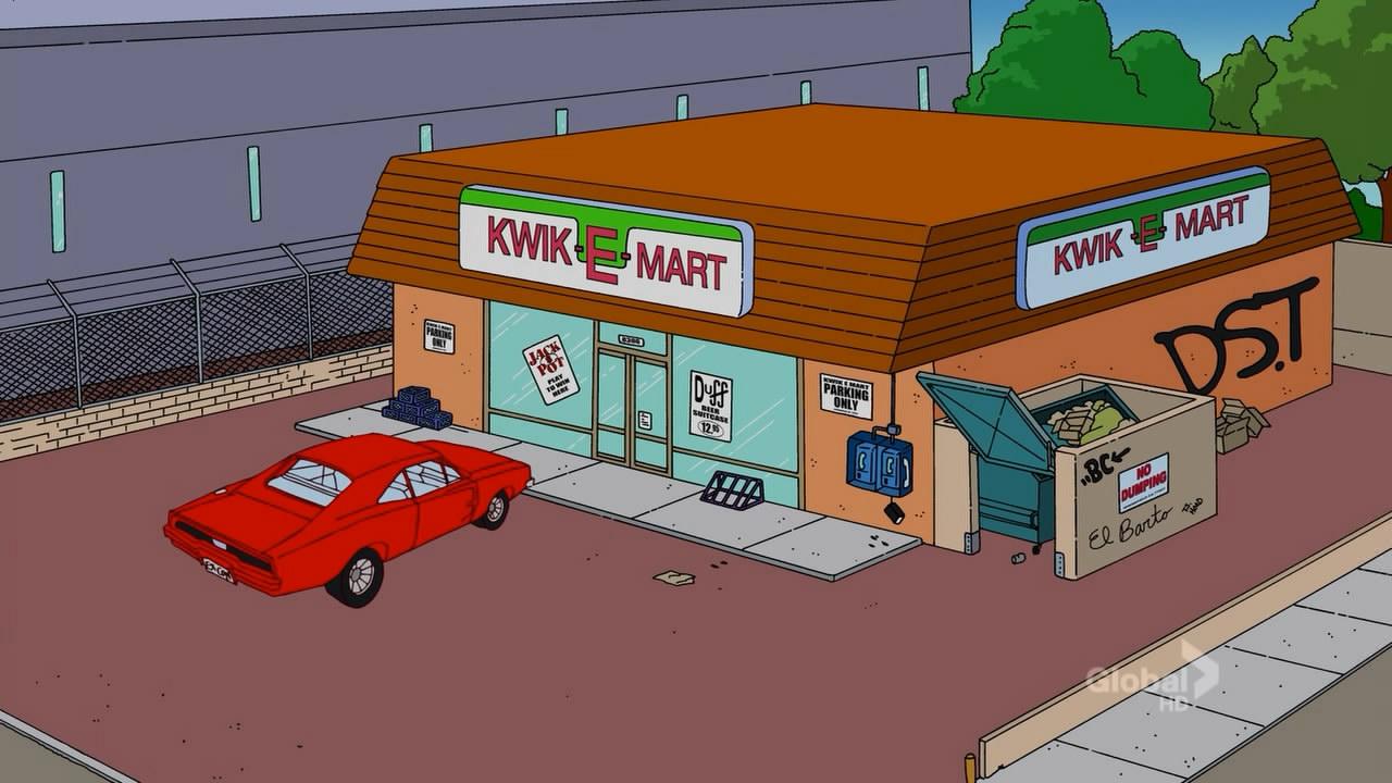 Simpsons Kwik E Mart