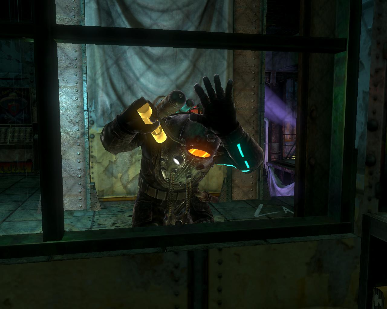 BioShock 2-Inner Persephone - Augustus Sinclair as Subject Omega f0354Bioshock 2 Eleanor And Delta