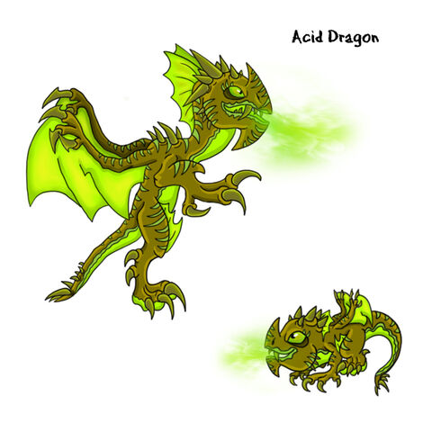 Dragon Vale Dragon Acid
